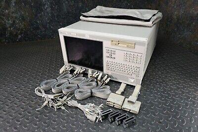 Hewlett Packard 16702a Logic System With 16534a 16557d Cards