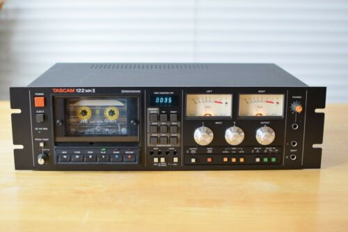 Tascam 122 MKII   3 Head Professional Cassette Deck, serviced