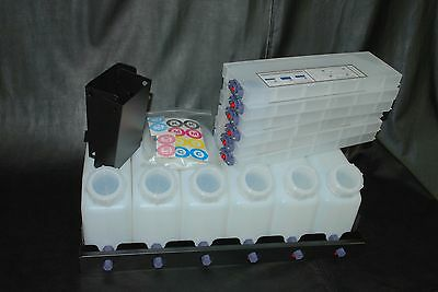 Vertical Bulk Ink System 6x6 For Roland Vs Model Printers. Us Fast Shipping