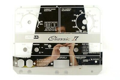 Lincoln Classic 300D Custom Mirrored Stainless Steel Faceplate L10849-2  BW1115