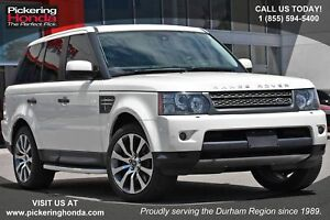 2010 Land Rover Range Rover Sport HSE Navigation|Front and Re...