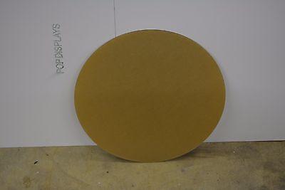 "PLEXIGLASS ACRYLIC PLASTIC SHEET  DISC CIRCLE CLEAR 1/8""  x 16"" DIAMETER"