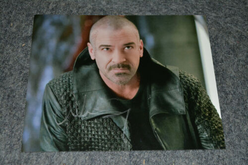 ALAN VAN SPRANG signed Autogramm In Person 20x25 cm STAR TREK DISCOVERY