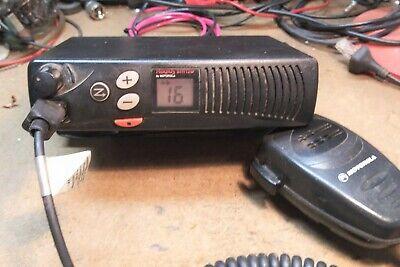 Motorola Radius Sm120 Vhf 16 Ch. Mobile 2-way Radio