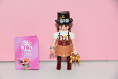 Playmobil 70160 Figures Girls Serie 16 Steampunk Frau