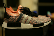 Adidas NMD NMD_R1 PK  tricolor tricolour salmon pink US 9 (w 10) Newington Auburn Area Preview