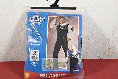Halloween Costumes- Kids' FBI Agent, Size Medium 8-10