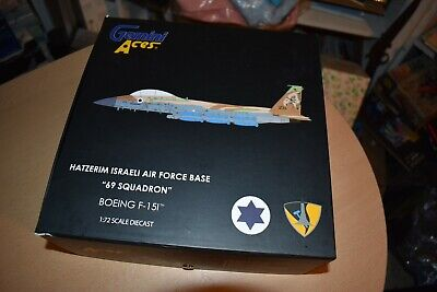 1/72 Gemini Aces GAIAF7002 F-15I 69 Squadron Israeli Air Force Die-Cast
