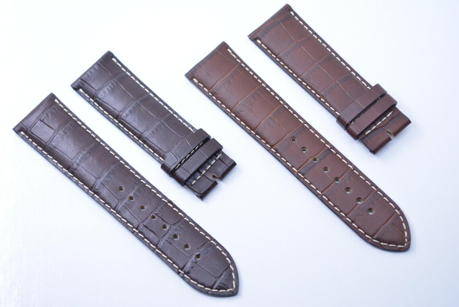 Original Tissot 1853 Uhrenarmband 22 mm Braun Dunkelbraun Echtleder armband