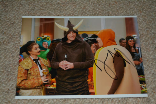 JASON SEGEL signed Autogramm 15x20 cm In Person HOW I MET YOUR MOTHER Marshall