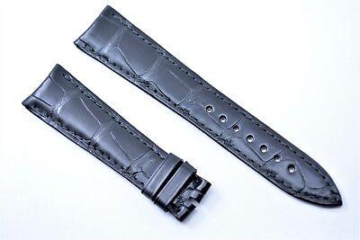 Original Ulysse Nardin Uhrenarmband 20 mm Echt Kroko Tourbillon