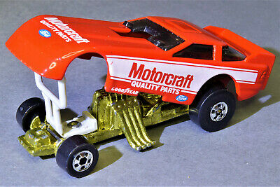 Vintage Hot Wheels Ford Probe Motorcraft Funny Car.