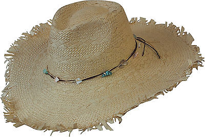 Havanna Strohhut Sommerhut Natur Strandhut Hippie Ibiza Style Beach Hut ISLANDER online kaufen