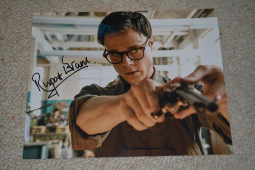 RUPERT EVANS signed Autogramm In Person 20x25 cm THE MAN IN THE HIGH CASTLE