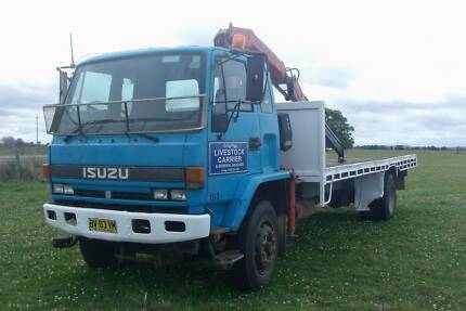 1996 Isuzu Crane Truck Ulmarra Clarence Valley Preview