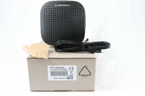 Motorola HSN4040A External Speaker XTL5000 APX7500 APX8500 *New + Free Shipping