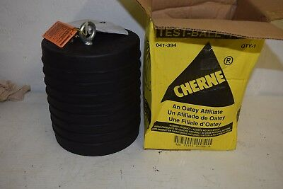 New Cherne 041-394 Test Ball 10 Rubber Pneumatic Pipe Plug