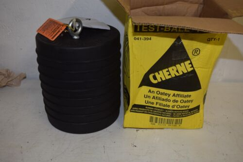 """NEW Cherne 041-394 Test Ball 10"""" Rubber  Pneumatic Pipe Plug"""