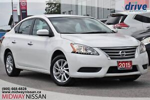2015 Nissan Sentra 1.8 SV Navigation|Bluetooth|Backup Camera