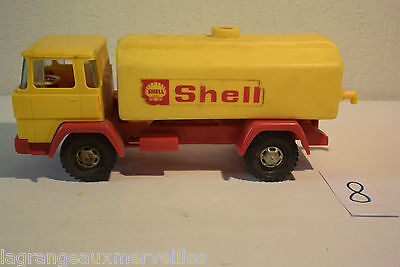 C8 Authentique ancien jouet Camion Shell made in Germany old toy essence