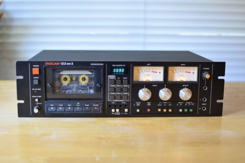 Tascam 122 MKII  3 Head Professional Cassette Deck, serviced and tested