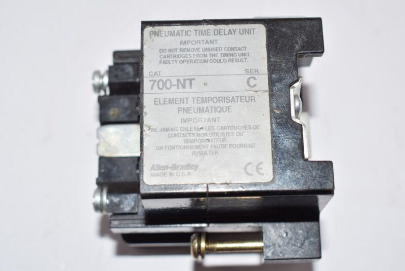Allen Bradley Relay Timer 700-NT Ser C, FY728849