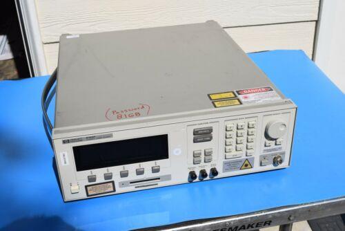 Agilent / HP 8168F 1435-1597 nm Tunable Laser Power Supply UNLOCKED
