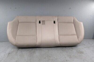 2011 BMW 750i F01 Rear Back Seat Bench Cushion Bottom Lower Seat Oyster 7546415