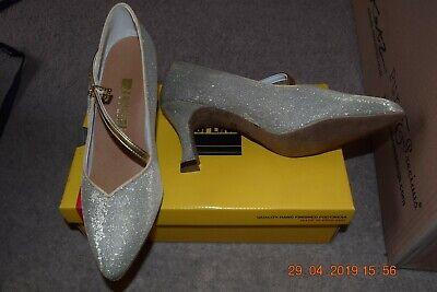 Ladies Girls Ivory Or White Bridesmaid Satin Ballet Shoes Pumps All Sizes Katz