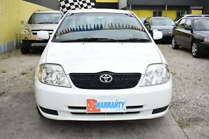 2001 TOYOTA COROLLA ASCENT AUTOMATIC REGO RWC & 1YR WARRANTY Dandenong Greater Dandenong Preview