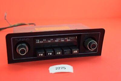 B#16 1973 Datsun Pickup Truck Clarion Radio with Bezel  KNOBS TRIM BLACK