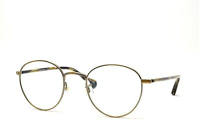 f37f9490c614 Oliver Peoples Round Westley 1128T 5039 Eyeglasses New Authentic 47-22-145