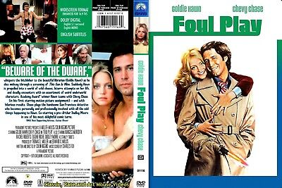Foul Play   New Dvd   Goldie Hawn  Chevy Chase  1978