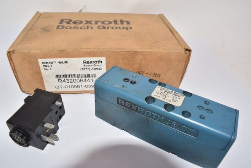 Aventics R432006441 Bosch Rexroth Solenoid-Operated Air Control Valve - Base Mou