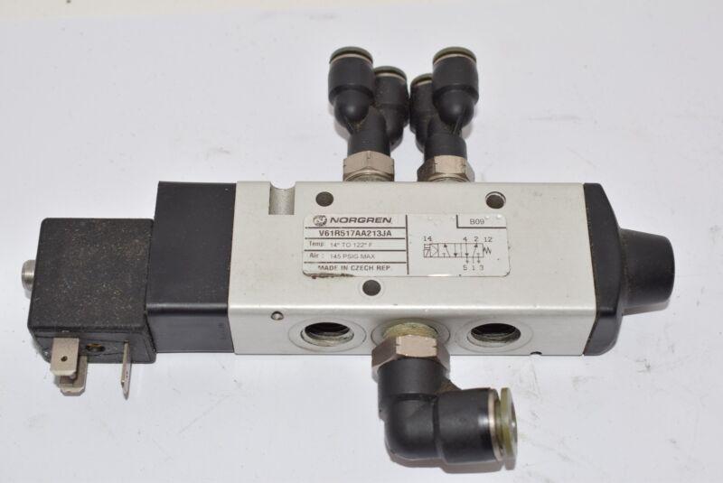 Norgren V61R517AA213JA Directional Solenoid Control Valve, 145 PSI Max