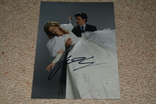 PATRICK DEMPSEY signed Autogramm In Person  15x20 cm GREY S ANATOMY