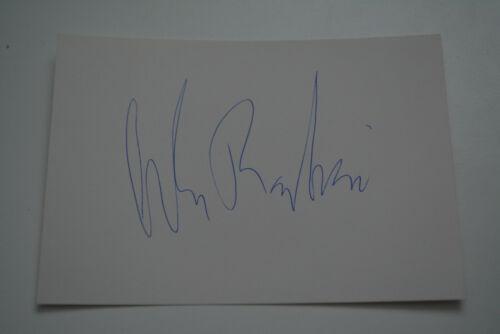 ALAN RACHINS  signed  Autogramm 10x15 Karte In Person  DHARMA & GREG , LA LAW