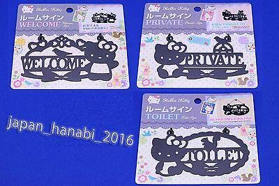 Hello Kitty Room Sign SANRIO Kawaii Cute Cool Japan NEW