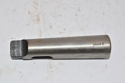 Phase Ii Collet Tool Holder Adapter Morse Taper 5-14 Oal