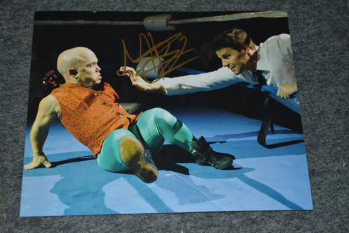 MARTIN KLEBBA signed Autogramm In Person 20x25 cm BONES