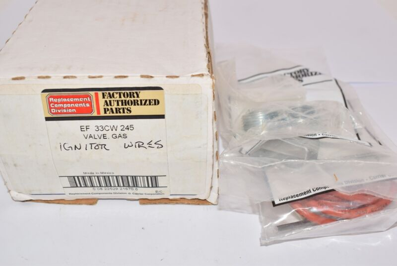 NEW Carrier EF-33CVW 245 Valve, Gas Ignitor Wires