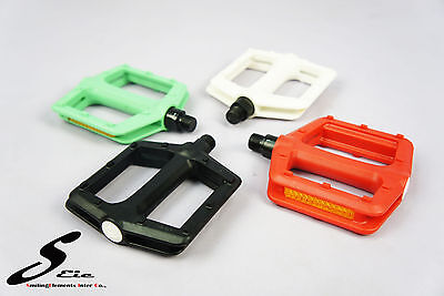 Bike Parts -Bicycle Pedals Nylon Colors Road Fixie City Cycl