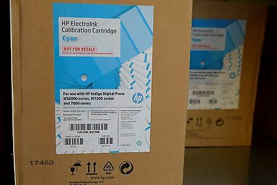 Hp Indigo Electroink Calibration Cyan Q4136b For Press Ws6000 W7200 7000