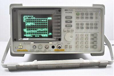 Hp 8596e 9 Khz To 12.8 Ghz Spectrum Analyzer W Opt 004 009 043