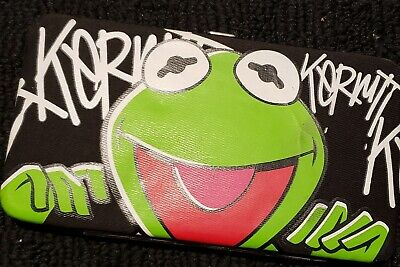 Kermit the frog wallet one click clutch Spencers mint