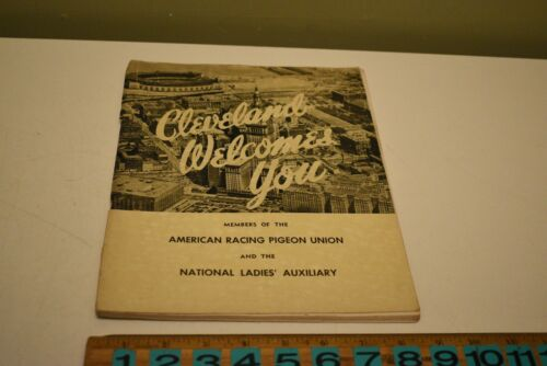 1957 American Racing Pigeon & Ntl Ladies Auxiliary Convention Yearbook Album