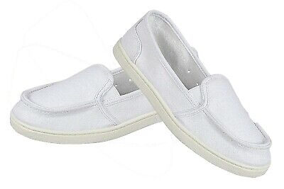 Womens Loafer Moccasins Sneaker Soft Canvas Deck Shoes Inspired Slip On