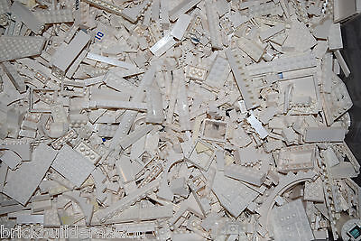 ☀️1/4 POUND of WHITE LEGOS Mix from huge bulk lot lbs city Parts Pieces Bricks