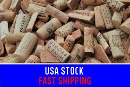 Used Pre-Cut Wine Corks for Crafts Multi Listing 50-100-200-400 Halves WineCorks