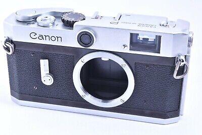 Canon P Rangefinder Film Camera Body leica screw mount #702815